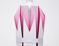 Gorget - decorative wine packaging concept