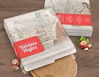 Viennese Wafers: Packaging Design