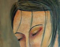 Study of a woman portraitX