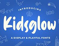 Free Kidsglow Playful Font