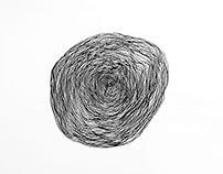 Illustration: One Line Swirl