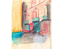 Sketchbook from Sevilla