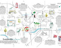 Vogue Living - London Life Map
