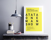 ATATA ONE MAN SHOW - Poster