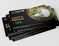 Discount card for www.ledtrends.pl