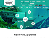 Web site for crowdfunding renewable energy project