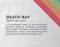 Death Ray - Poster