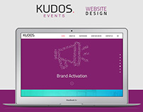 Kudos Events - Website Design 2016