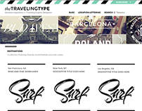 Interface : The Traveling Type Blog