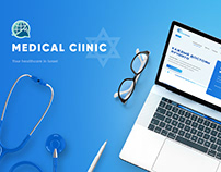 Israel Medical Clinic - Website Design