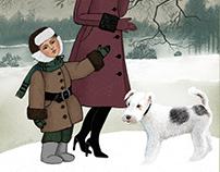 """"""" Прогулка с мамой"""" иллюстрация, Sketches"""