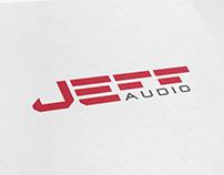 JEFF AUDIO Logo / New music brand