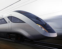 Concept low emission high speed train, U.K