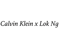 Calvin Klein x Lok Ng (天貓牛仔節)