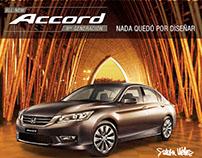 Honda Accord y Simón Vélez