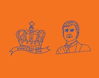 King's day 2016 - brooch