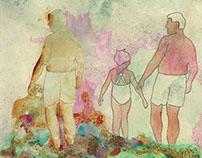 Watercolor + Wallpaper