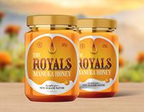 Packaging Design of Royals Honey