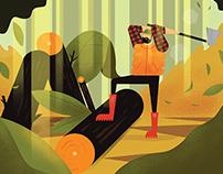 The short story of lumberjack