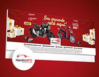 Campanha Seu presente está aqui! | Independência Motos