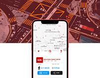 Smart Detroit Bus App