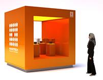 Nanotech retail stand concept