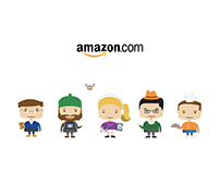 Customer Characters for Amazon