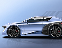 Hyundai Tape Drawing / Car Transportation Design
