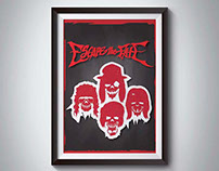 Escape The Fate Fan Art poster