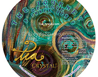 Tia Crystal CD and CD Jacket Design and Photography