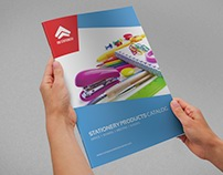 Stationery Products Catalog Brochure - 20 Pages