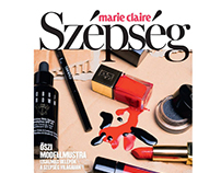Beauty editorial for Marie Claire Hungary
