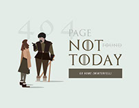404 - NOT TODAY!