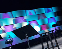 Coroplast Waves - Stage Design