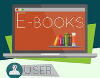 Infographic Design - Book Vs E-book