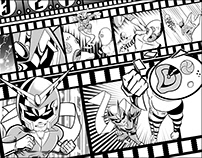 Viewtiful Joe action spread