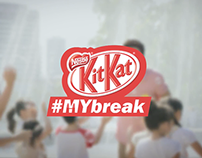 Kit Kat #MYbreak 15s TVC