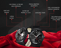 The Battle of Smart Watches [Infographic]