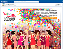 Aplicativo de Carnaval no Facebook para Colorama