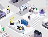 HP - 3D Printing Hub