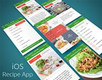 iOS Easy Recipe app