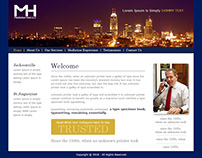 Creative Lawyer Website Templates Design by Nexstair