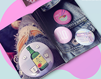Button Pins / Badges Design