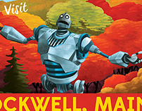 Rockwell, Maine- Iron Giant Tribute