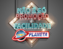 Selo Não e Promoção e Facilidade - Planeta Palmas