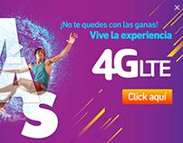 Campaña Claro 4G LTE