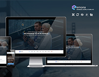 SEMONA - Business Joomla Template