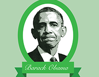 Barack Obama Currency Portrait