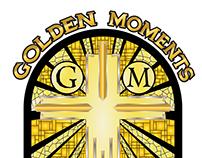 GOLDEN MOMENTS Church Logo