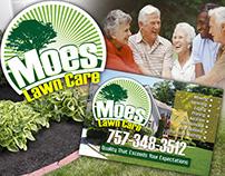 Moe's Lawn Care Branding